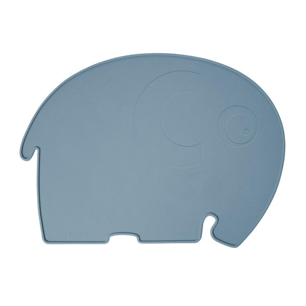 Sebra Elephant Placemat - Royal Blue