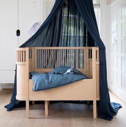 Sebra Cot Bed - Wooden Edition