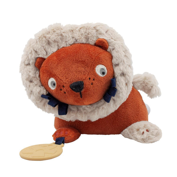 Sebra Velour Activity Toy - Lee the Lion