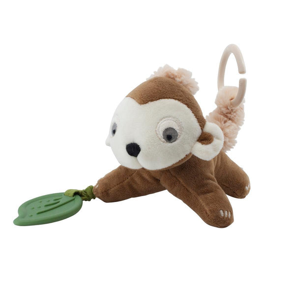 Sebra Velour Activity Toy - Maci the Monkey