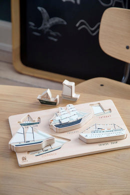 Sebra Wooden Puzzle in Seven Seas