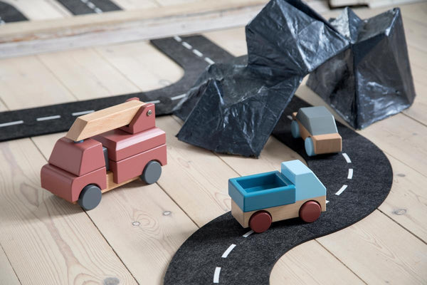 Sebra Wooden Toy Fire Truck