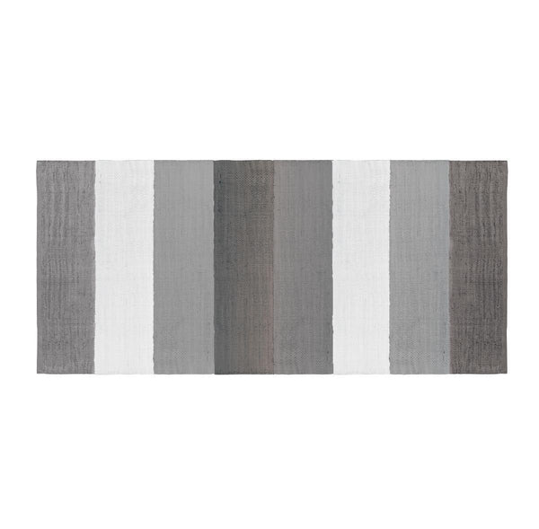 Sebra Woven Floor Mat in Grey
