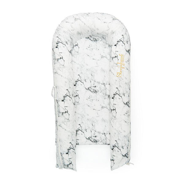 Sleepyhead Grand Pod Spare Cover in Carrara Marble (9-36 months)