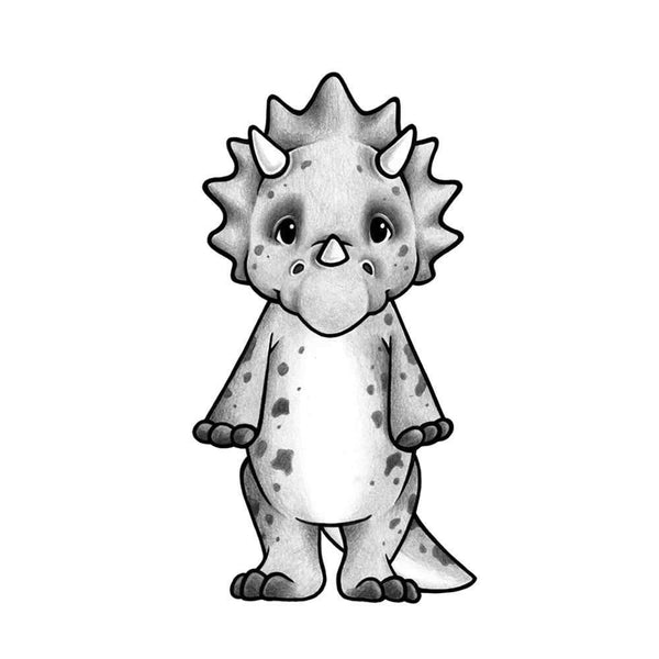 Stickstay - Trixi the Triceratops