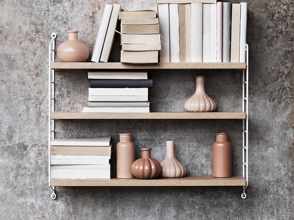 String Pocket Shelf - oak / white