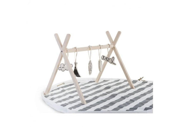 Teepee Baby Gym in Natural