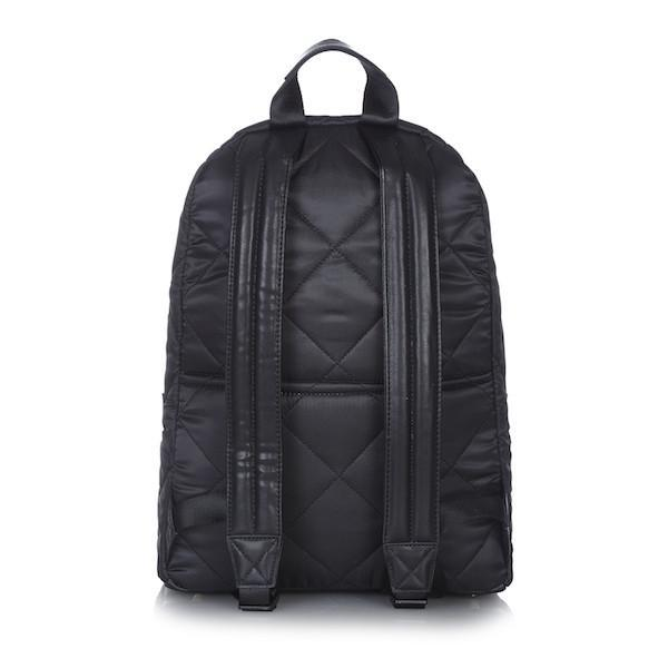 Tiba and Marl Elwood Backpack in black quilted