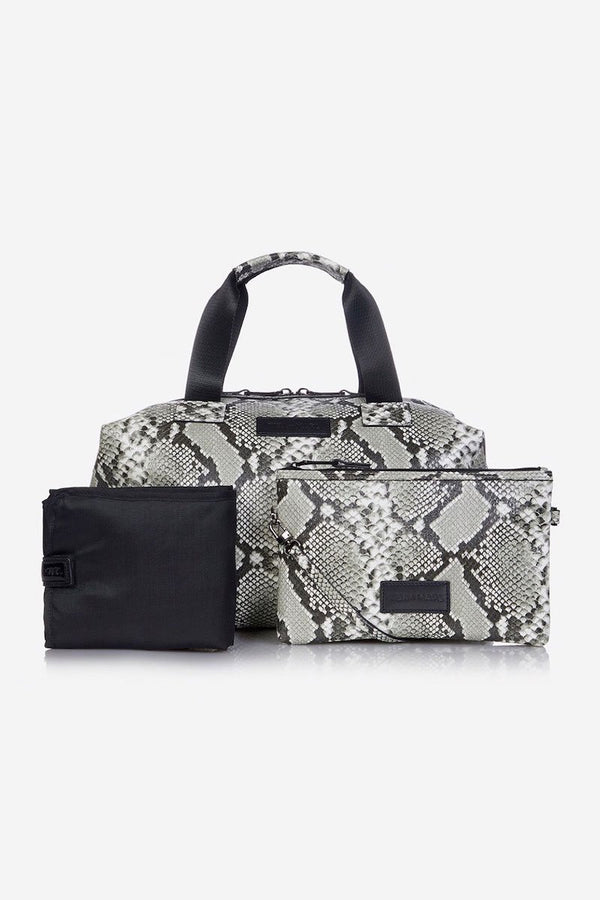 Tiba and Marl RAF Holdall in Tonal Grey Snake
