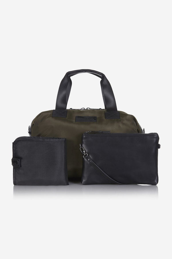 Tiba and Marl Raf Weekender holdall in Khaki