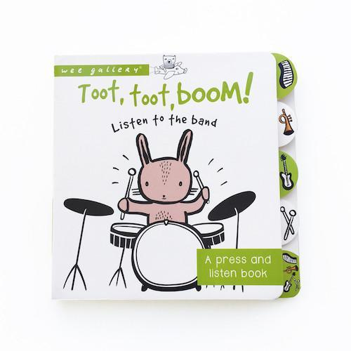 Wee Gallery Toot, Toot, Boom! Book