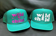 Wild Child (pine tree) Trucker Hat - Youth