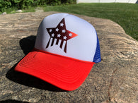 Flag Star Trucker Hat