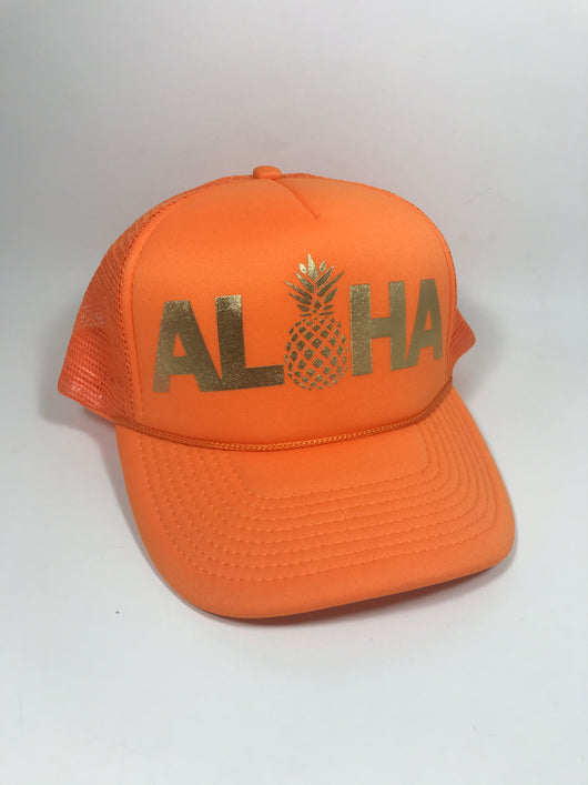 ALOHA Trucker Hat CLEARANCE