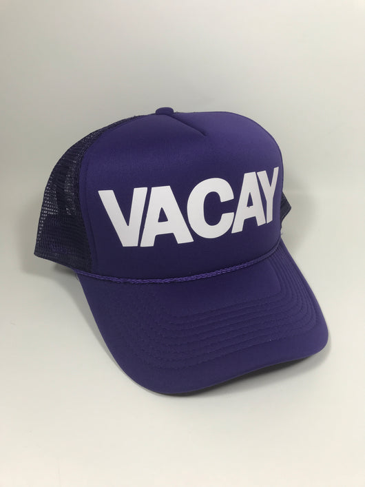 VACAY Trucker Hat CLEARANCE