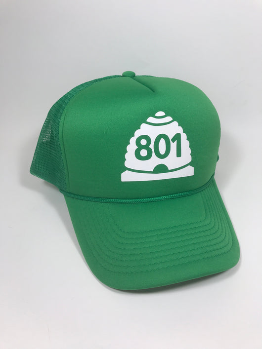 801 (Beehive) Trucker Hat CLEARANCE
