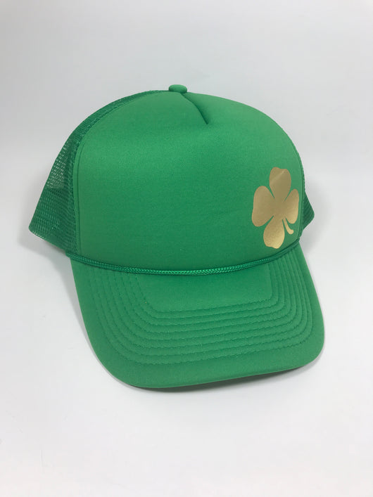 Shamrock Trucker Hat CLEARANCE