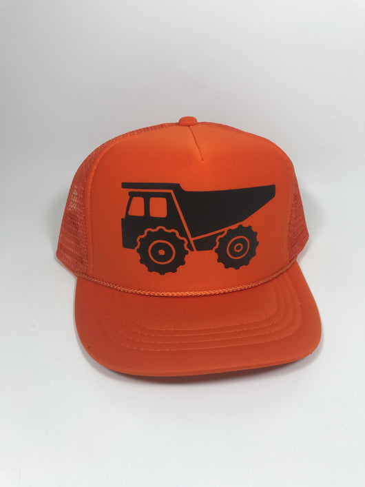 dump truck Youth Trucker Hat CLEARANCE