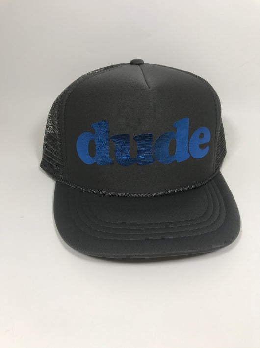 dude Youth Trucker Hat CLEARANCE