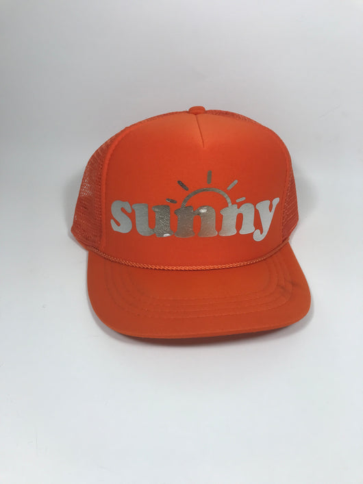 sunny Youth Trucker Hat CLEARANCE