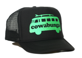COWABUNGA youth trucker hat side