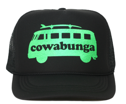 COWABUNGA youth trucker hat