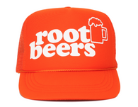 ROOT BEERS youth trucker hat