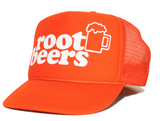 ROOT BEERS youth trucker hat side