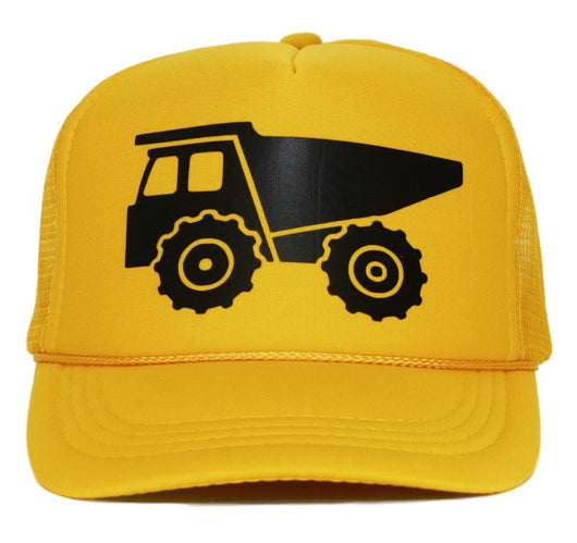 dump truck youth trucker hat