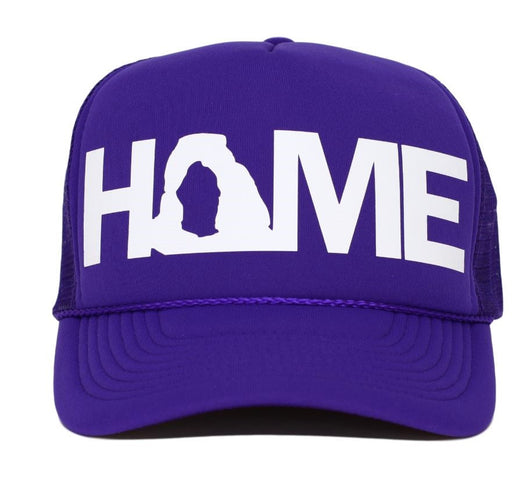 home trucker hat