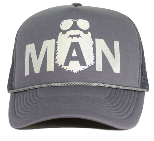 man trucker hat