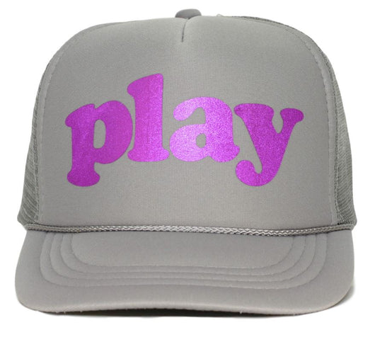 play youth trucker hat