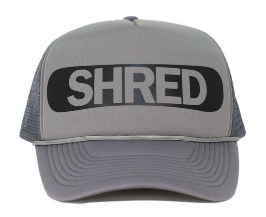 shred trucker hat