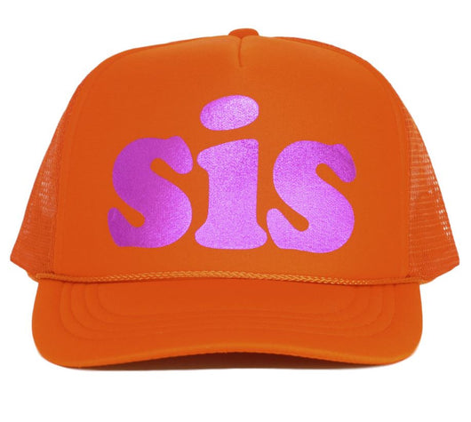 sis youth trucker hat