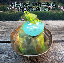 Money Drawing Spell Kit