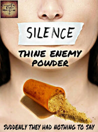 Silence Your Enemy Powder