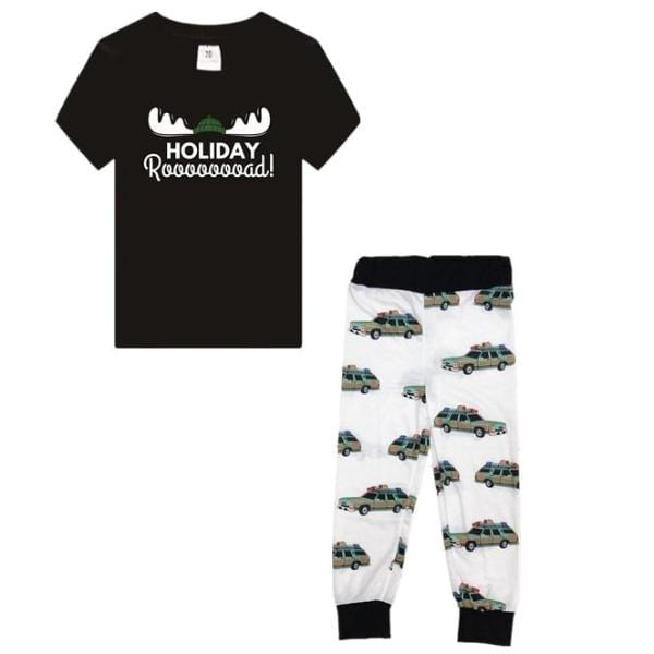 Lampoons Holiday Road PJ Set