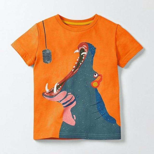 Hippo Mike T-Shirt