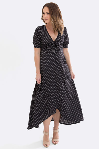 Maternity wrap dress maive and bo
