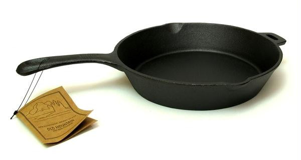 10.5'' Cast Iron Skillet with assist handle