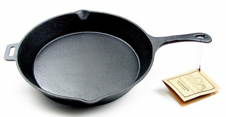 "12"" Cast Iron Skillet with assist handle"