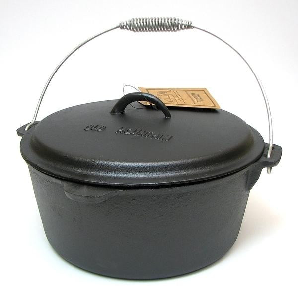 8 Quart Cast Iron Dutch Oven