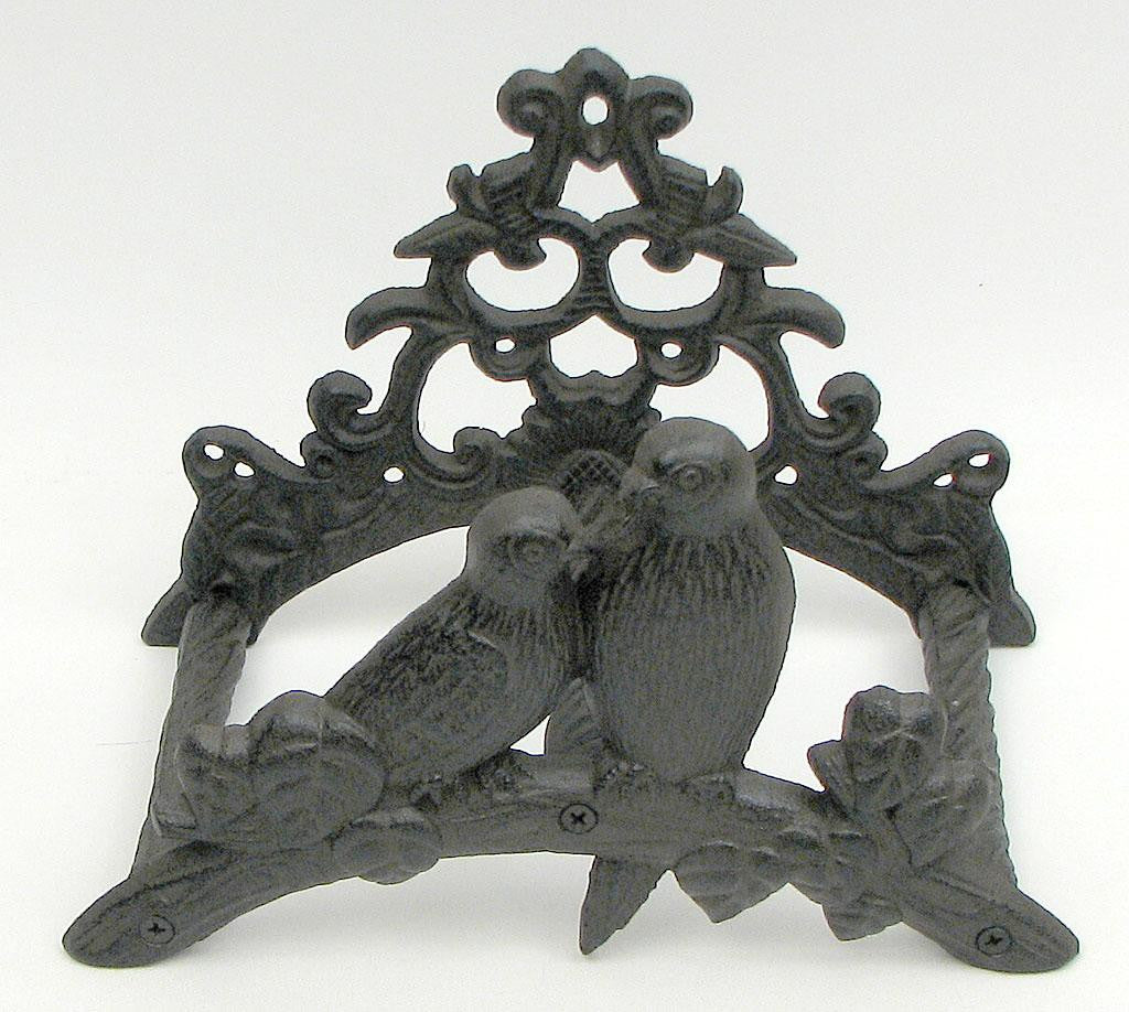 Cast Iron Garden Hose Wall Mount Hanger
