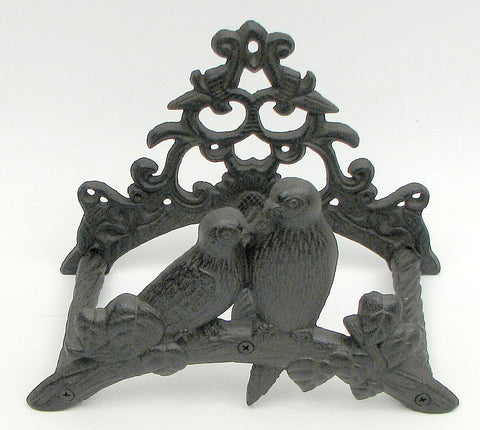 Cast Iron Garden Hose Wall-Mount Hanger