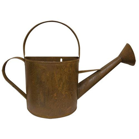 Rustic Watering Can Wall Planter