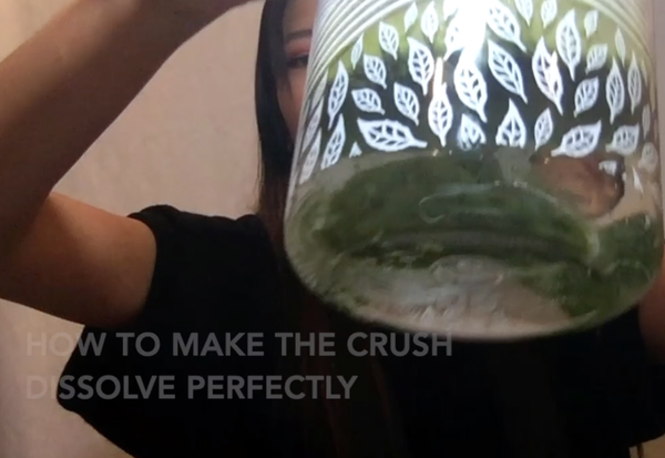How to make your crushes dissolve perfectly | VIDEO