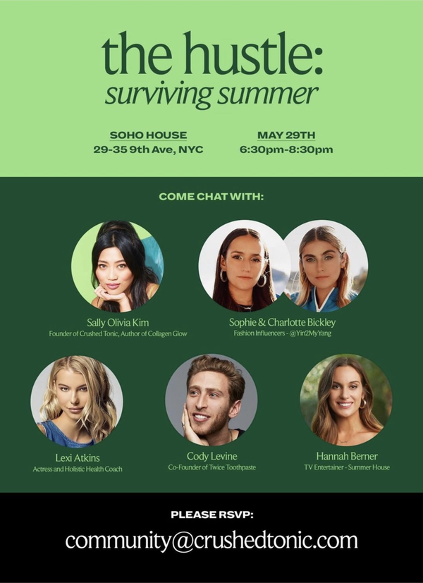The Hustle: Surviving Summer | RSVP now!