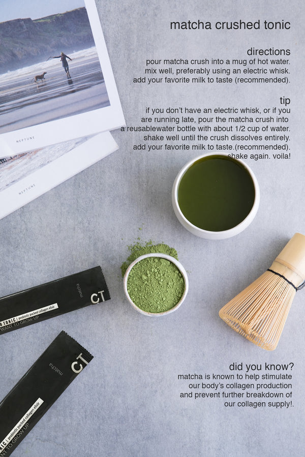 HOW TO FALL IN LOVE WITH MATCHA CRUSH