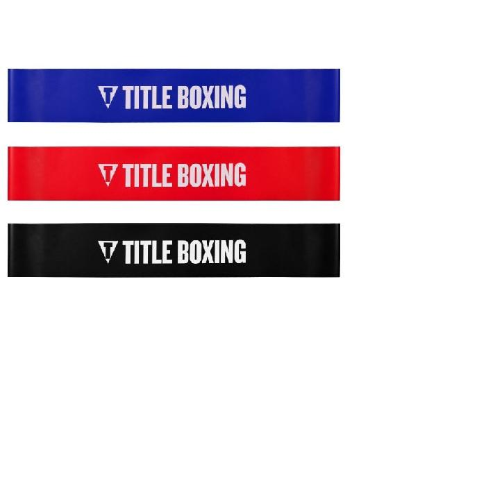 Title Boxing Power Stance Resistance Bands