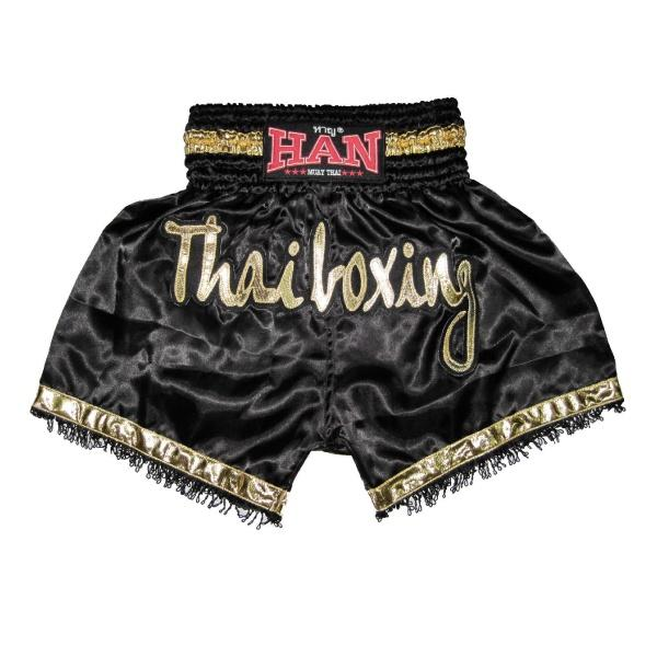 Han Muay Thai boxing shorts Thai Boxing/ Tassle - The Fight Factory